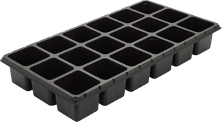 18 Cells PS Seed Tray
